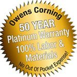 owens corning warranty