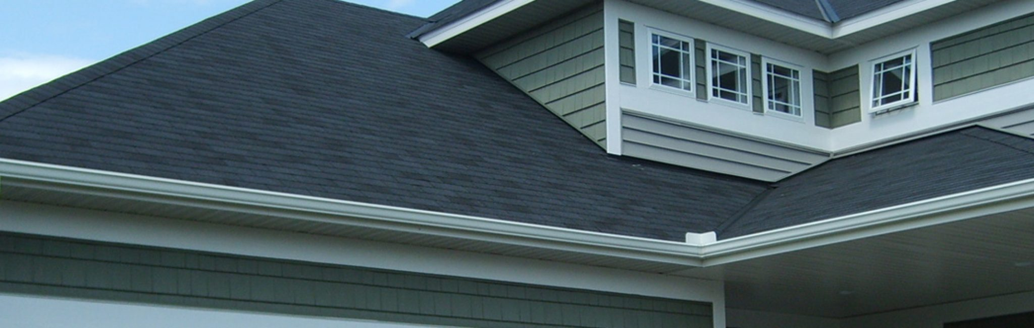 gutter-system-on-house mitre